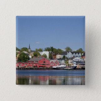 Lunenberg, Nova Scotia, Canada. 4 15 Cm Square Badge