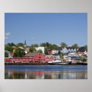 Lunenberg, Nova Scotia, Canada. 4 Poster