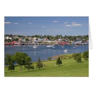 Lunenberg, Nova Scotia, Canada. Card