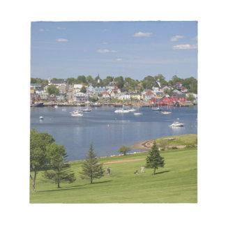 Lunenberg, Nova Scotia, Canada. Notepad
