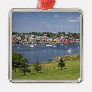 Lunenberg, Nova Scotia, Canada. Silver-Colored Square Decoration