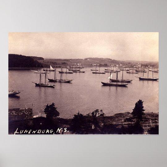 Lunenburg Nova Scotia Canada Poster