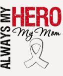 Lung & Bone Cancer - Always My Hero My Mum T Shirts