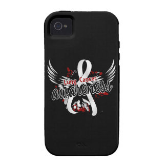 Lung Cancer Awareness 16 iPhone 4/4S Case
