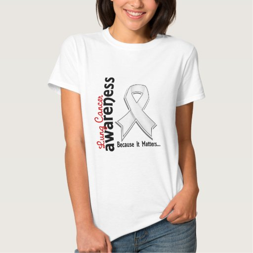 Lung Cancer Awareness 5 Tshirts