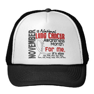 Lung Cancer Awareness Month Every Month For ME Cap