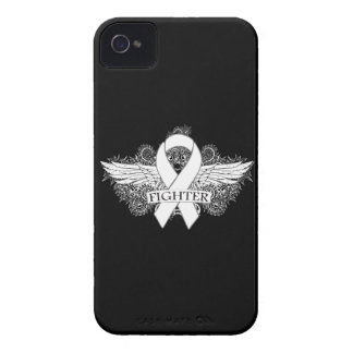 Lung Cancer Fighter Wings iPhone 4 Case
