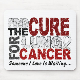 Lung Cancer FIND THE CURE 1 Mouse Mat