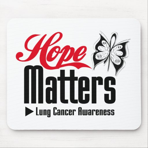 Lung Cancer HOPE MATTERS Mousepads