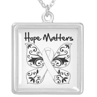 Lung Cancer Hope Matters Pendant
