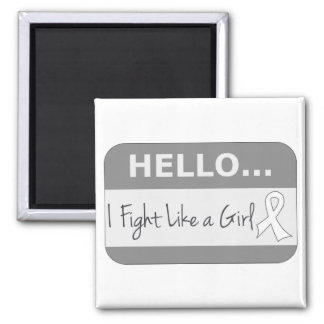 Lung Cancer I Fight Like a Girl Magnets