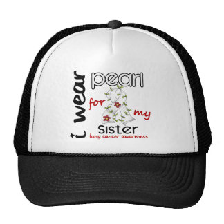 Lung Cancer I WEAR PEARL FOR MY SISTER 43 Cap