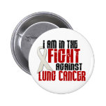 Lung Cancer IN THE FIGHT 1 Pinback Button