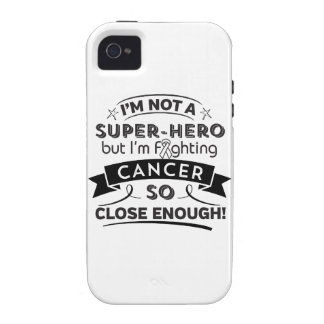 Lung Cancer Not a Super-Hero Case-Mate iPhone 4 Covers