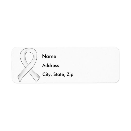 Lung Cancer Pearl Ribbon 3