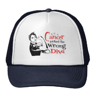 Lung Cancer Picked The Wrong Diva Mesh Hat