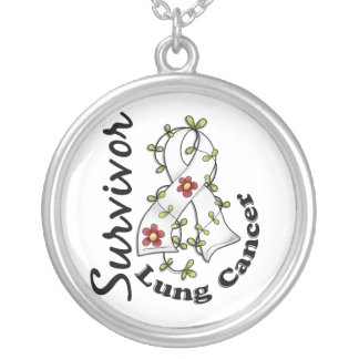 Lung Cancer Survivor 15 Personalized Necklace