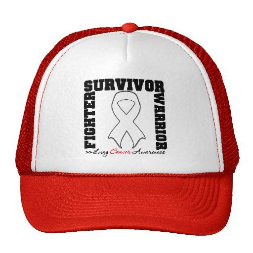 Lung Cancer Survivor Fighter Warrior Trucker Hat