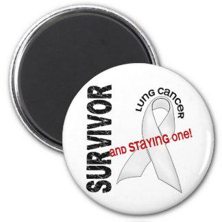 Lung Cancer Survivor Magnets