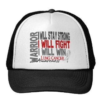Lung Cancer Warrior Cap