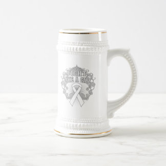 Lung Disease Fight Like A Girl Fleurish Beer Steins