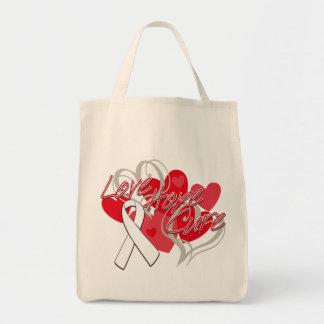 Lung Disease Love Hope Cure Bag