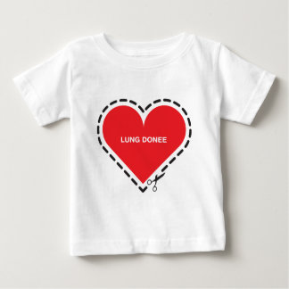 Lung Donee Infant T-Shirt