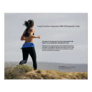 Lung Function Improves With Chiropractic Care Poster