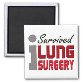 Lung Surgery Survivor Magnet