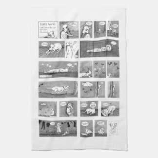 Luni's World Tea Towel