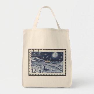Lunokhod 1 Russian Moon Probe 1970 Grocery Tote Bag