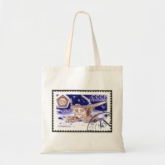 Lunokhod-1 Russian Space Robot Budget Tote Bag