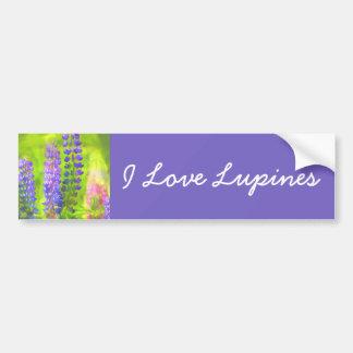 Lupines Bumper Sticker