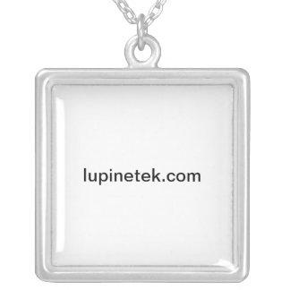 lupinetek.com square pendant necklace