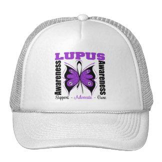 Lupus Awareness Butterfly Trucker Hats
