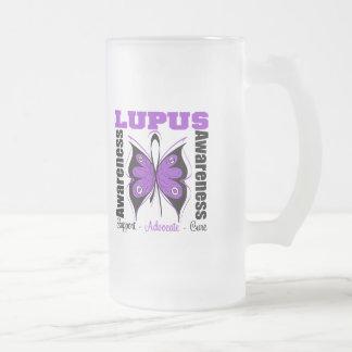 Lupus Awareness Butterfly Mugs