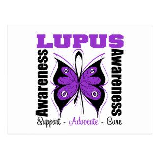 Lupus Awareness Butterfly Postcard