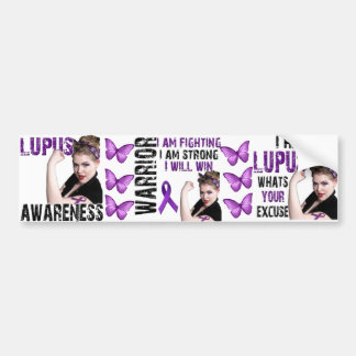 Lupus Awareness Car Bumper Sticker
