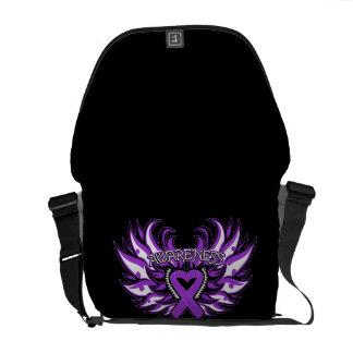 Lupus Awareness Heart Wings Commuter Bag
