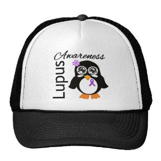 Lupus Awareness Penguin Mesh Hat