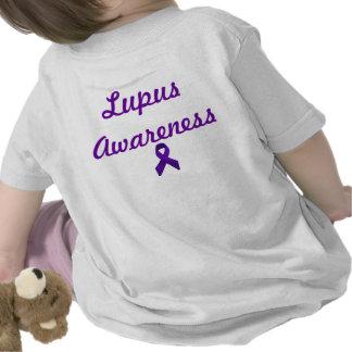 Lupus Awareness Purple Ribbon Tee Shirts