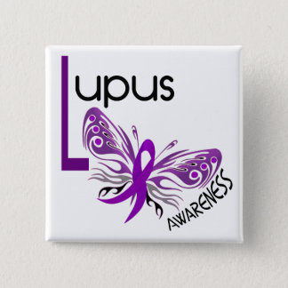 Lupus BUTTERFLY 3.1 15 Cm Square Badge