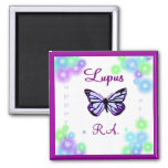 Lupus butterfly Magnet