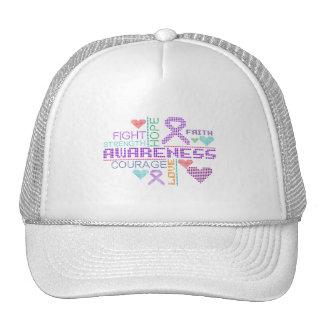 Lupus Colorful Slogans Trucker Hats