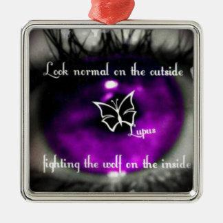 lupus eye22.jpg Silver-Colored square decoration