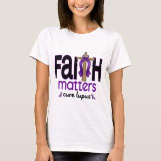 Lupus Faith Matters Cross 1 T-Shirt