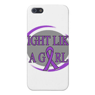 Lupus Fight Like A Girl Circular Cases For iPhone 5