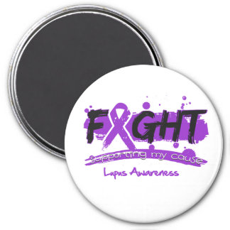 Lupus FIGHT Supporting My Cause Refrigerator Magnet