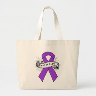 Lupus Find A Cure Ribbon Bags