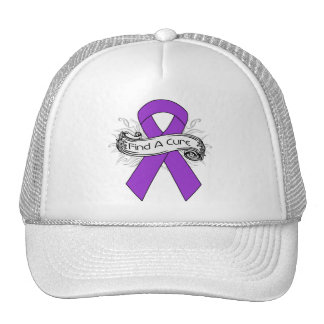 Lupus Find A Cure Ribbon Hat